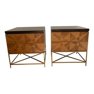 Baker Milpa Side Chests - a Pair For Sale