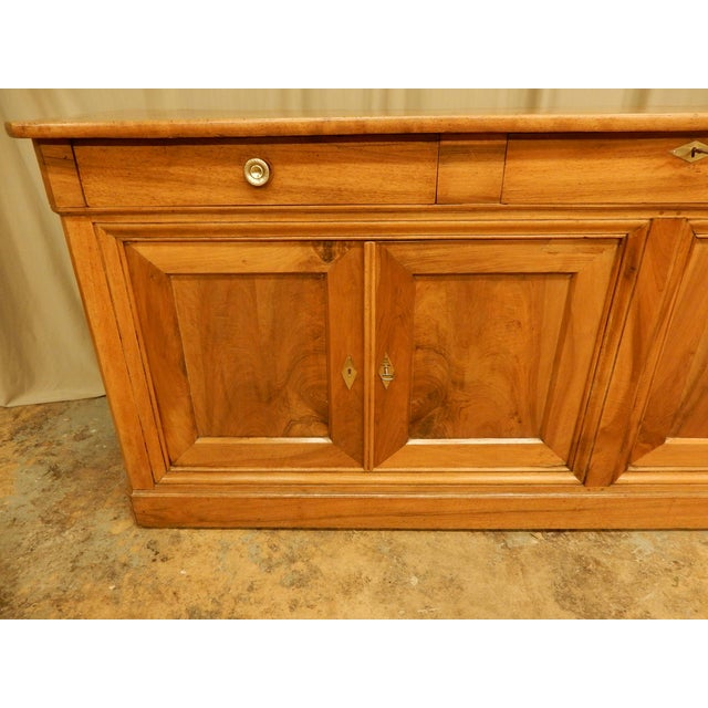 19th Century Walnut French Enfilade For Sale - Image 4 of 10