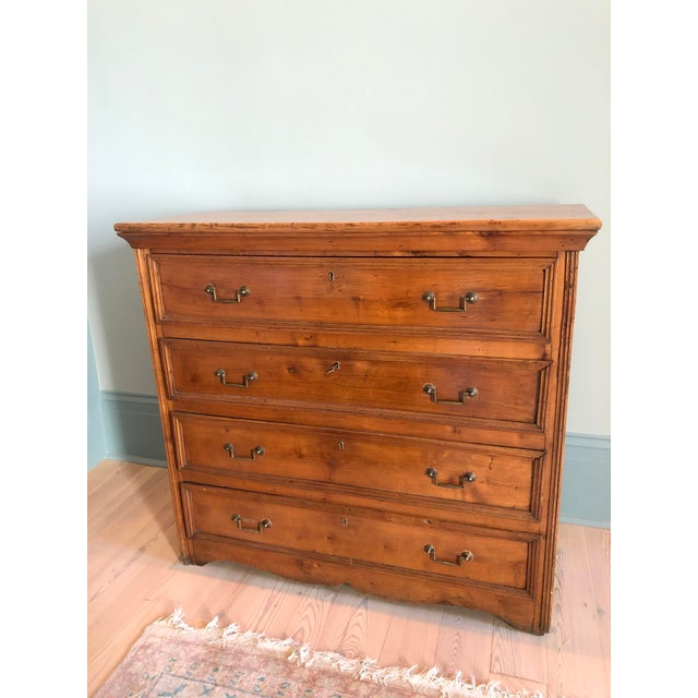 19th Century Italian Walnut Provincial Commode For Sale In New Orleans - Image 6 of 6