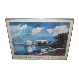 National Gallery of Art Monet Exhibit Poster For Sale