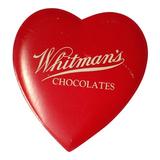 1940s Valentines Chocolate Heart Shop Sign #2