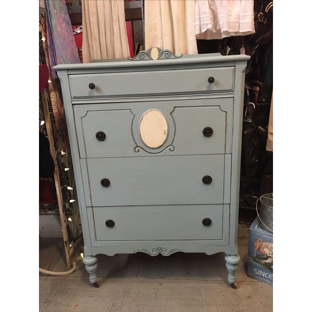 1930s Antique Distressed Dresser - Image 6 of 8