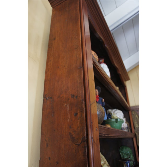 18th Century Antique French Walnut Hutch - Image 4 of 5