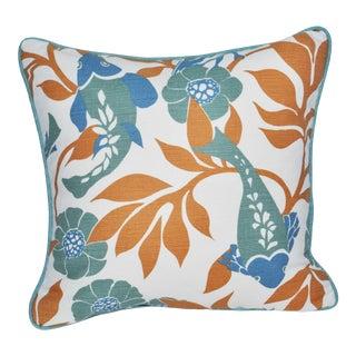 Lulu Dk Duralee Linen Throw Pillow For Sale