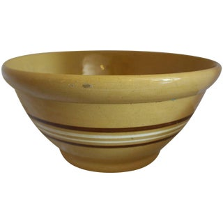Multi-Colored Banded Mixing Bowl From the Andy Warhol Collection For Sale
