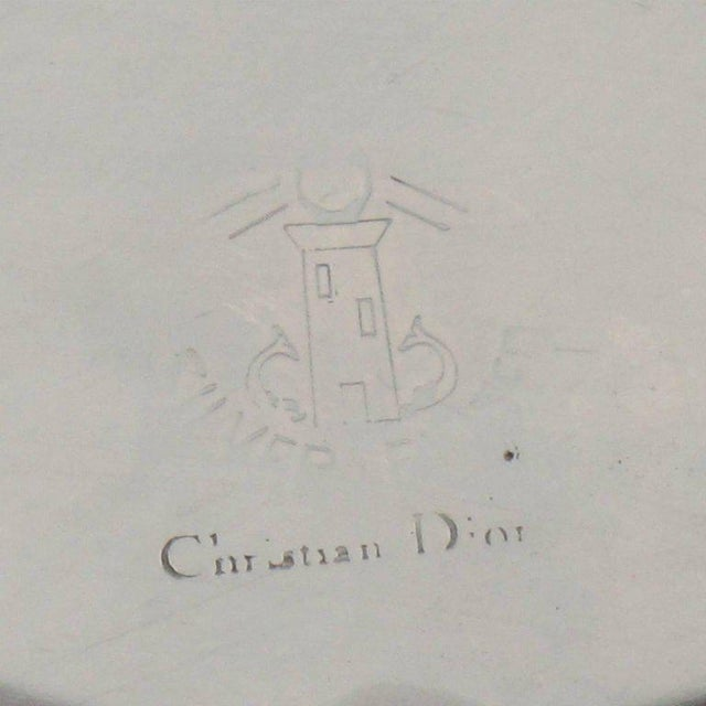 Christian Dior France Silver Plate Large Box - Image 6 of 8