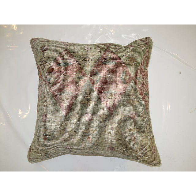 Distressed Rug Pillow - Image 2 of 3