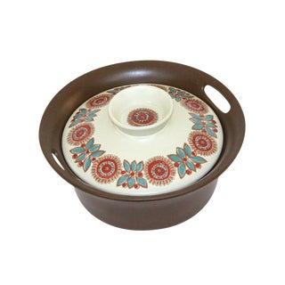 Vintage Figgjo Flint Norway Covered Serving Bowl For Sale
