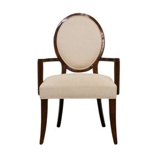 Late 20th Century Vintage Ralph Lauren Contemporary Style Dining Arm Chair For Sale