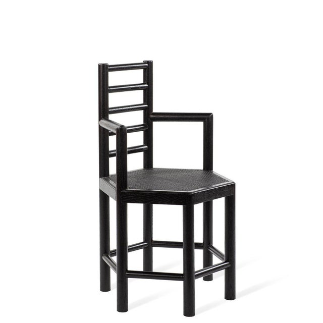 Tamarisk Chair in Black For Sale In Greensboro - Image 6 of 6