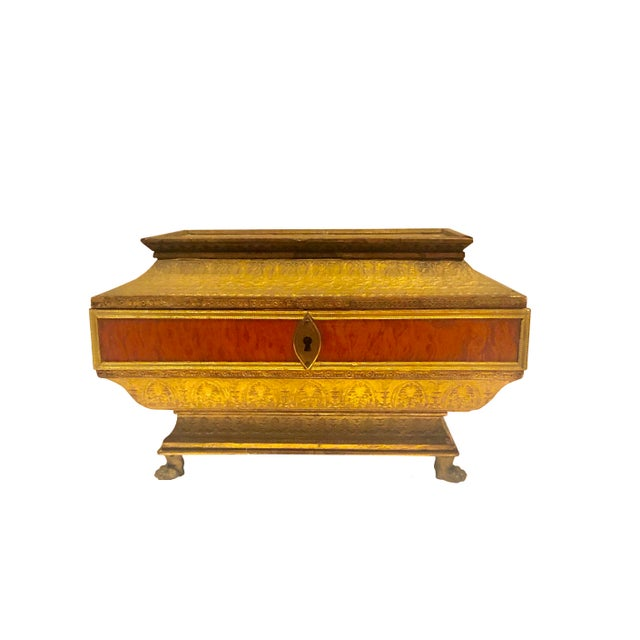 Early 19th Century Neoclassical Style Work Box For Sale - Image 9 of 9