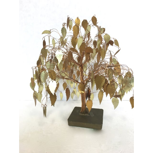 Vintage Wire Tree Sculpture - Image 4 of 4