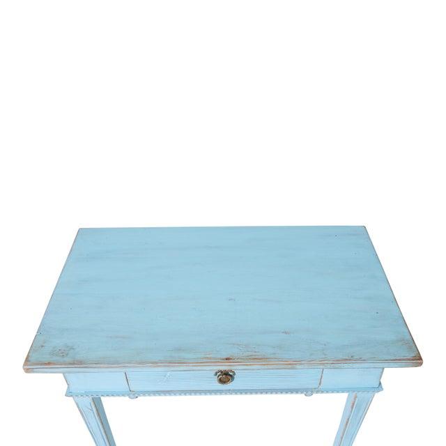 1900 - 1909 Antique Gustavian Writing Desk For Sale - Image 5 of 6