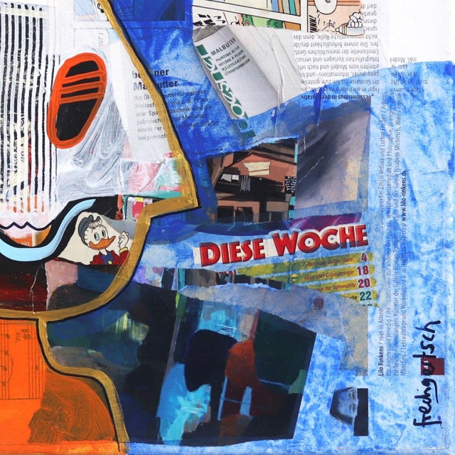 "2010s Pop Art ""This Week"" Original Artwork by Fredi Gertsch For Sale - Image 5 of 9"