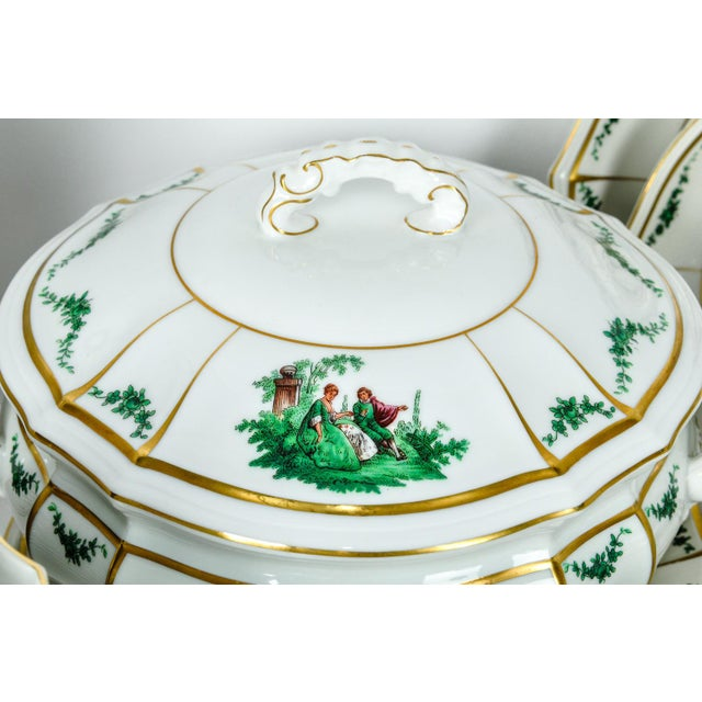 Antique English Dinnerware Service - Set of 67 For Sale In New York - Image 6 of 9