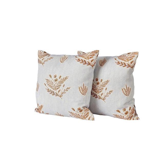 Custom Emily Lavender Knife Edge Pillows - a Pair For Sale In Lexington, KY - Image 6 of 6
