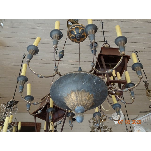 19th Century Italian Chandelier For Sale - Image 11 of 13