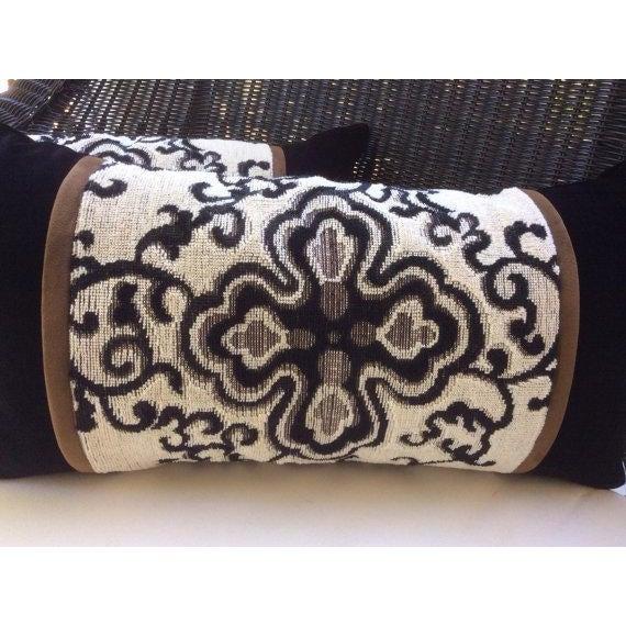 Ralph Lauren Pillow Covers in Jozan Pearl Velvet - a Pair - Image 3 of 4
