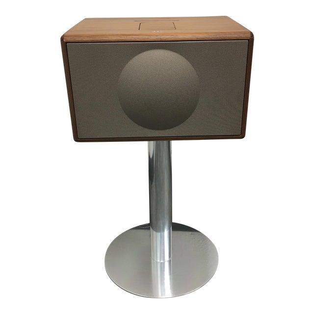Geneva Lab Walnut and Chrome Sound System - Image 1 of 7