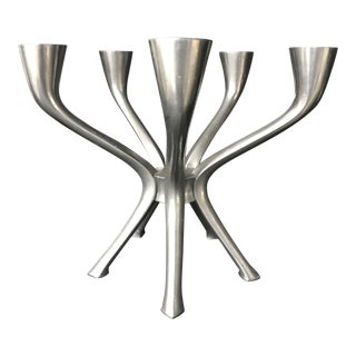 Mid Century Modern Danish Illums Bolighus Candelabra For Sale