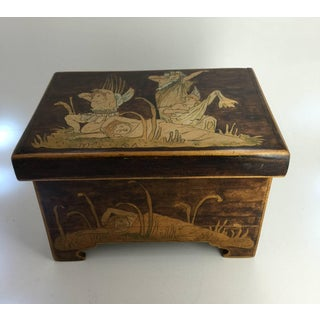 1900s Aesthetic Movement Trinket Box Preview