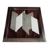 Image of Greg Copeland Op Art Oversized Mirror For Sale
