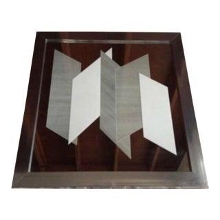 Greg Copeland Op Art Oversized Mirror For Sale