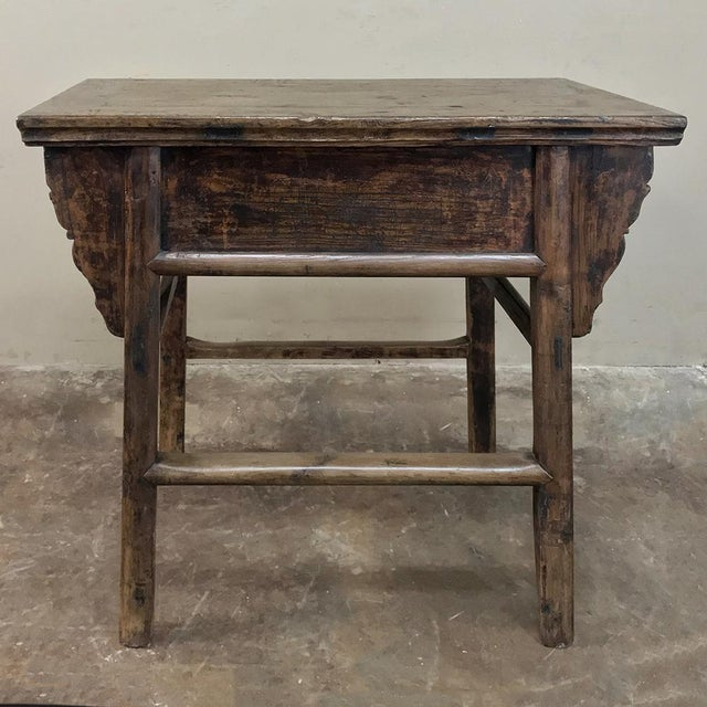 Brown 19th Century Chinese Console ~ Cabinet For Sale - Image 8 of 13