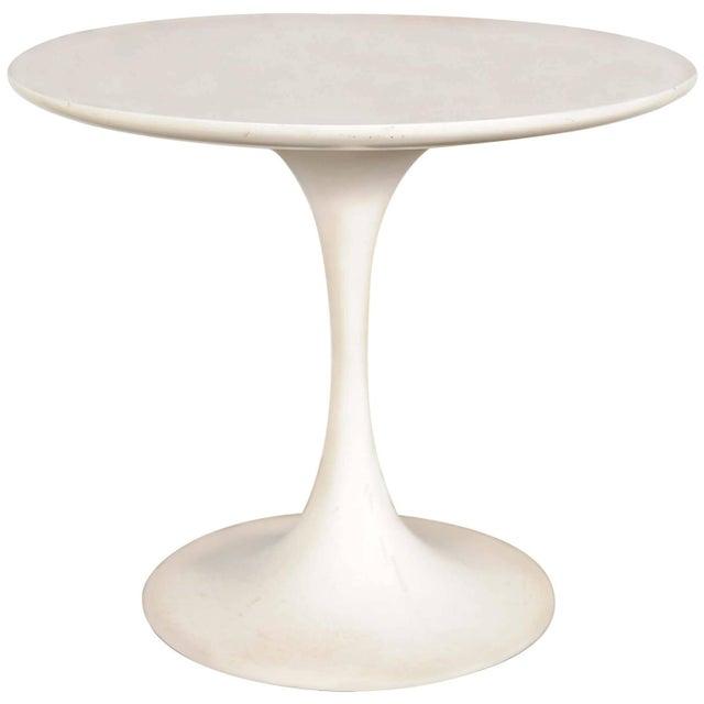 Mid-Century Modern Saarinen-Style Tulip Side Table - Image 1 of 8