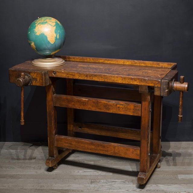 Black Walnut and Douglas Fir American Carpenter's Workbench C.1900 For Sale - Image 10 of 11