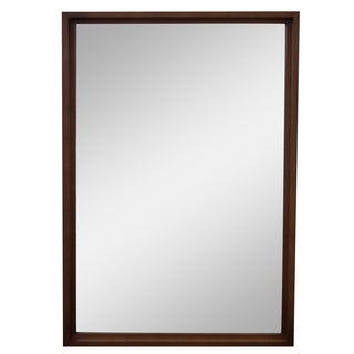 Mid-Century Modern Maple Frame Wall Mirror For Sale