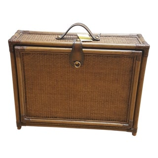 Maitland Smith Picnic Wine Suitcase