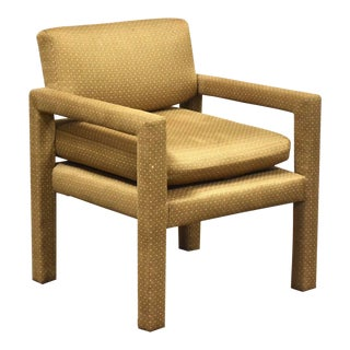 Thayer Coggin Occasional Lounge Chair For Sale