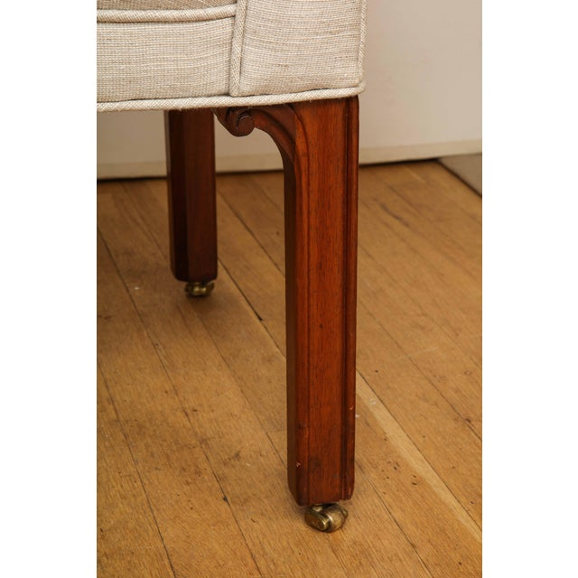 Wood Small Camelback Benches - a Pair For Sale - Image 7 of 13