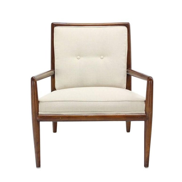 Mid-Century Modern Newly Upholstered Gibbings Lounge Arm Chair For Sale - Image 3 of 8