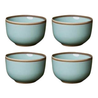 Contemporary 'Hermit' Cups by Middle Kingdom — Set of 4 - Celadon