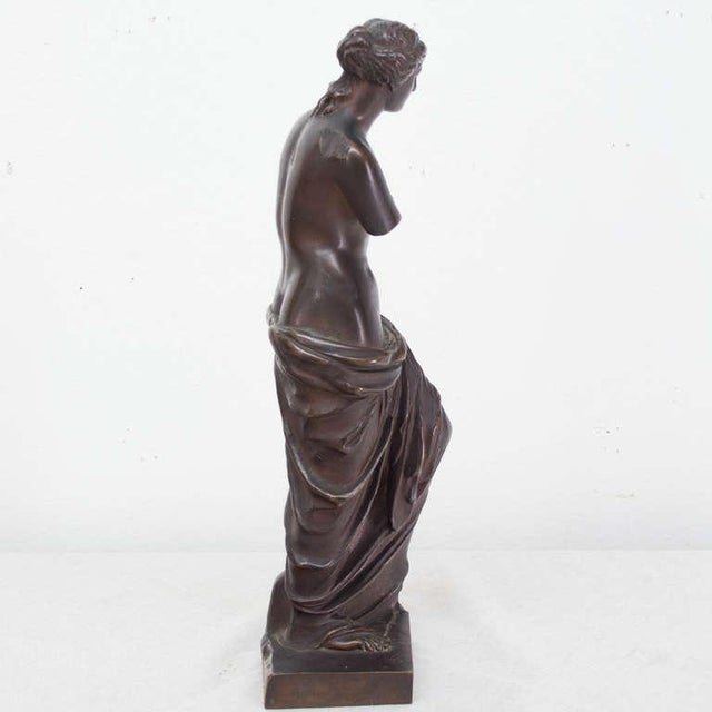 A patinated bronze of the Venus of Milo. More photos available upon request.