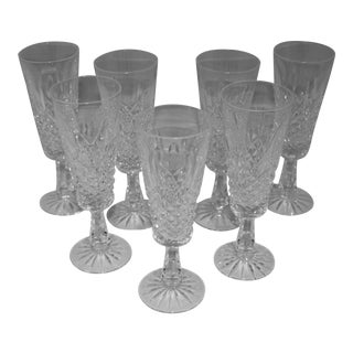 1960s Champagne Flutes - Set of 6 For Sale