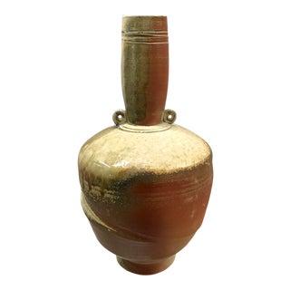 Vintage Studio Pottery Amphora-Form Vase For Sale