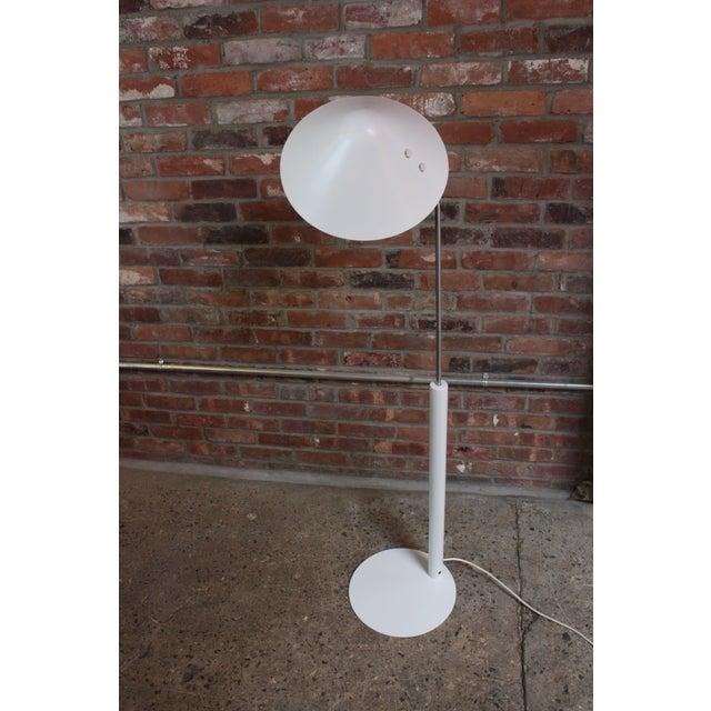 Mid-Century Modern Jørgen Gammelgaard Floor Lamp in Aluminum and Chrome For Sale - Image 3 of 13