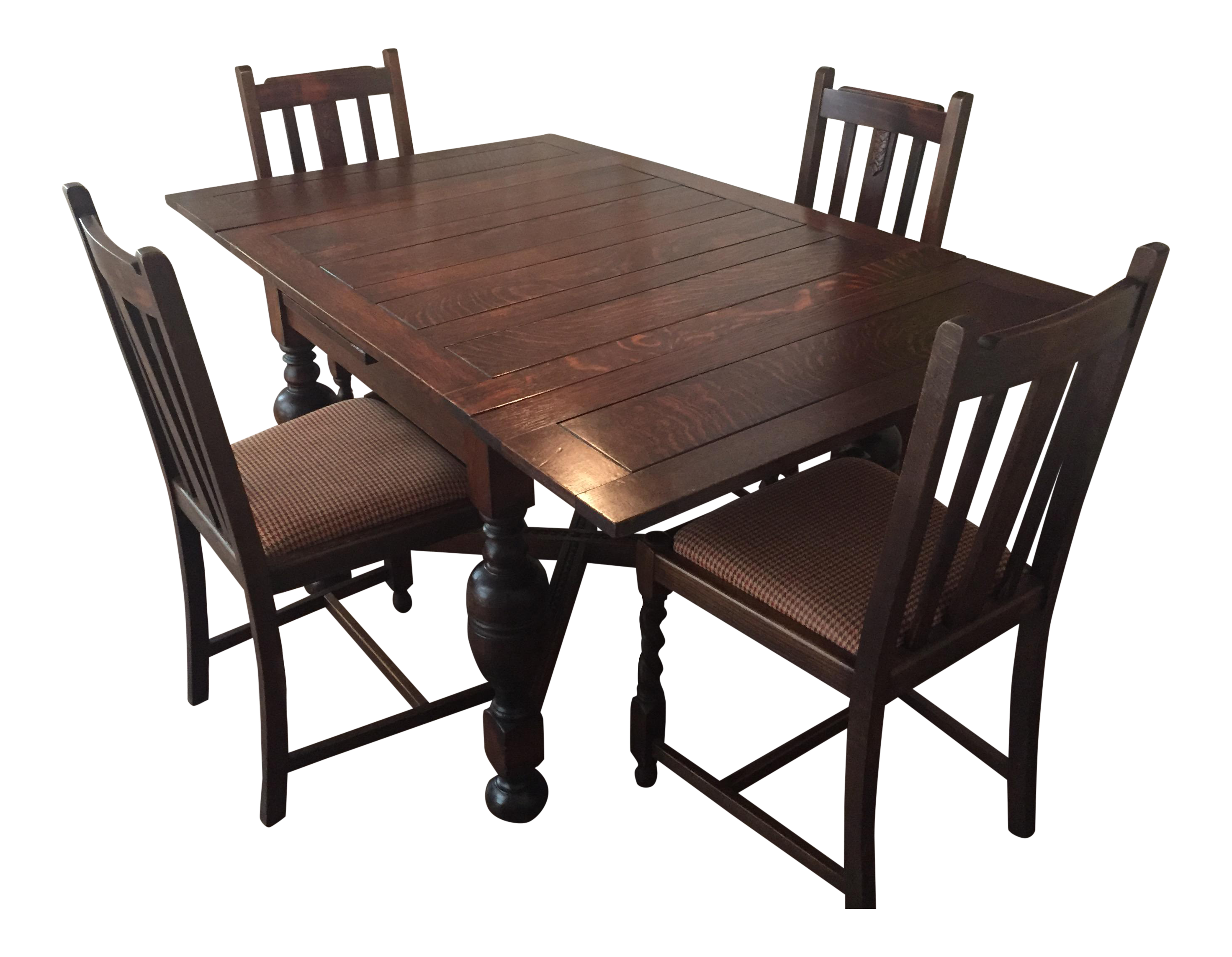Antique English Pub Table U0026 Chairs For Sale