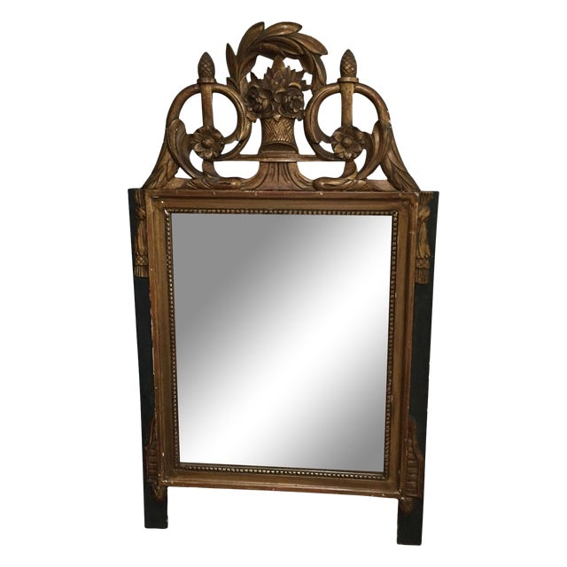 Vintage French Neoclassical Gold Mirror - Image 1 of 6