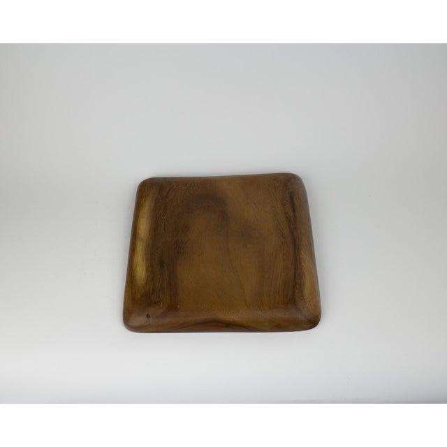 Teak Mid-Century Modern Wooden Fruit Bowl & Figurines - Set of 11 For Sale - Image 7 of 9