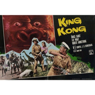 King Kong R1966 Italian Fotobusta Film Poster For Sale