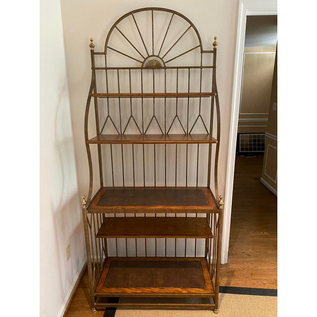 Spanish Drexel Bakers Rack For Sale - Image 9 of 9