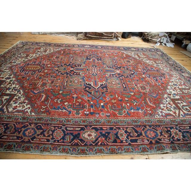 "Vintage Heriz Carpet - 8'1"" X 10'7"" - Image 8 of 10"