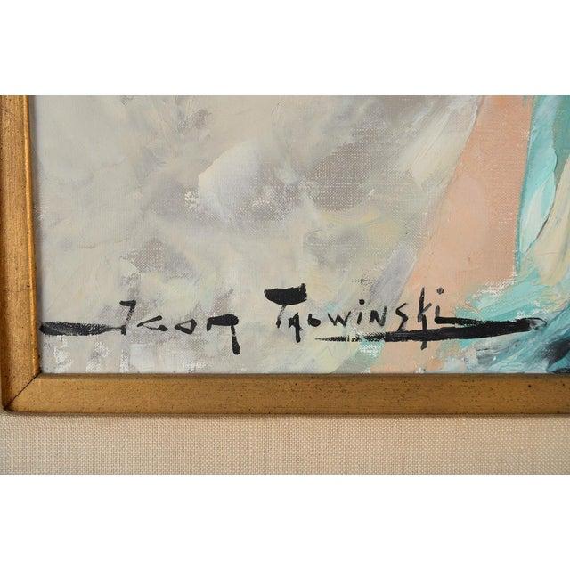 Igor Talwinski Portrait of Innocent Girl Painting For Sale - Image 4 of 10