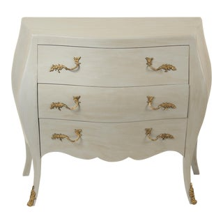 Italian Painted Louis XV Chest of Drawers For Sale