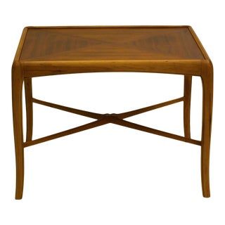 1965 Thomasville Walnut and Fruitwood Table For Sale