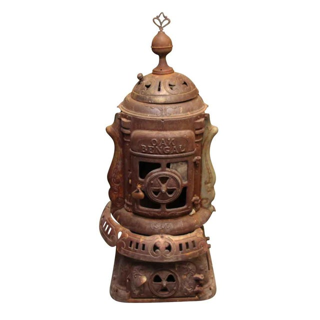 Antique Oak Bengal Stove For Sale - Image 13 of 13
